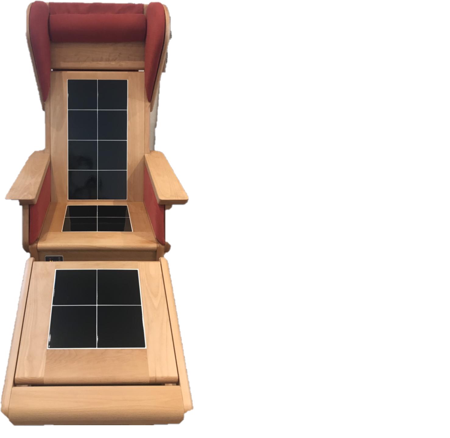 椅子式型タイル陶板浴